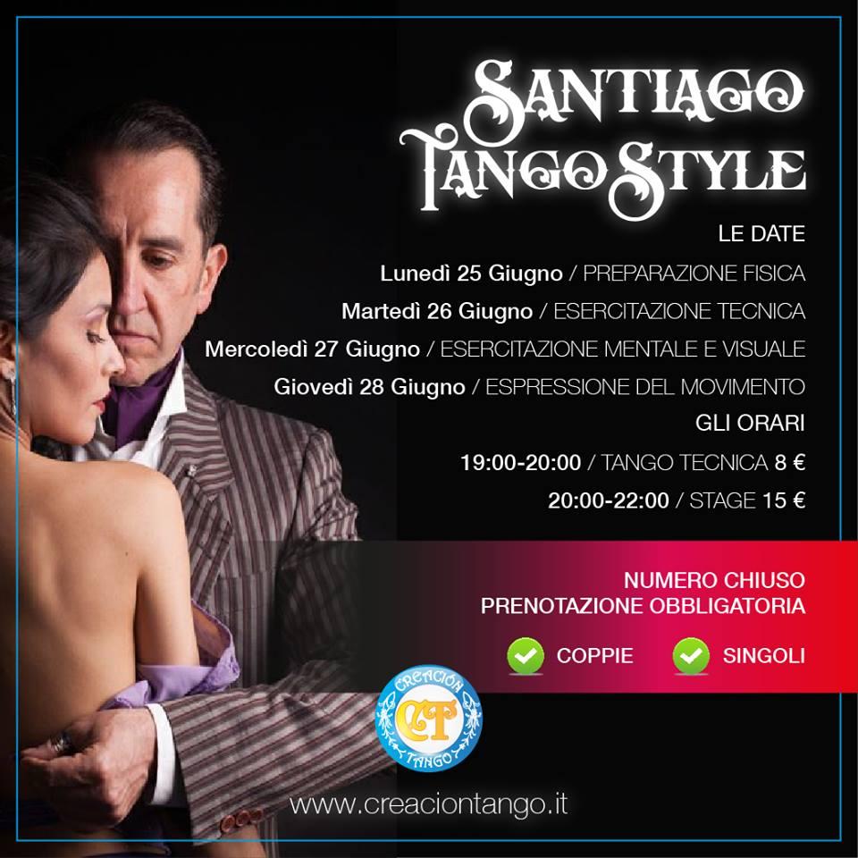 Santiago Tango Style 25-28 Giugno