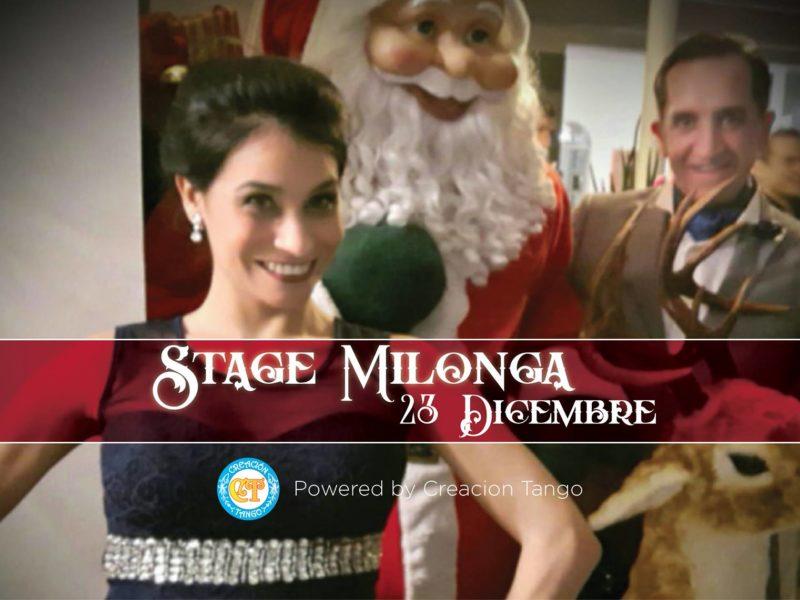 Stage Milonga Creacion Tango