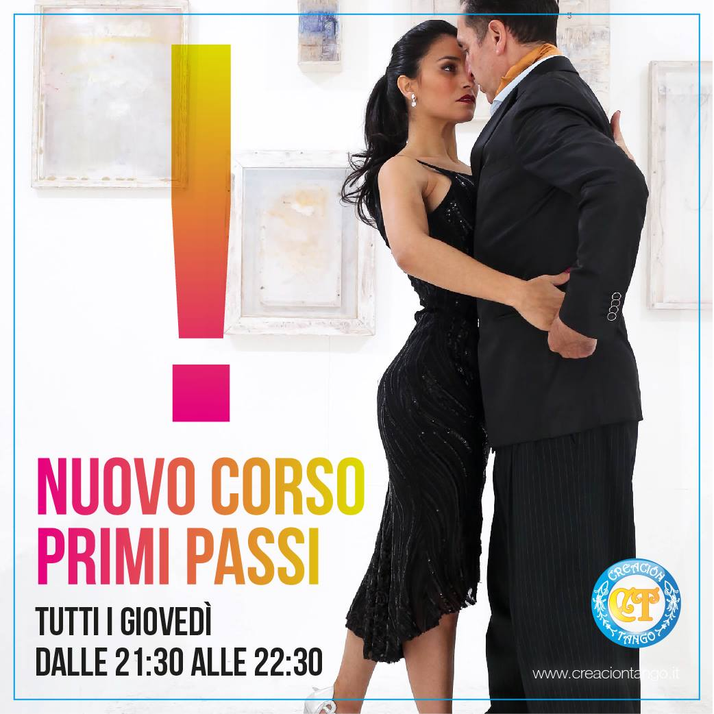Corso di Tango Argentino Primi Passi