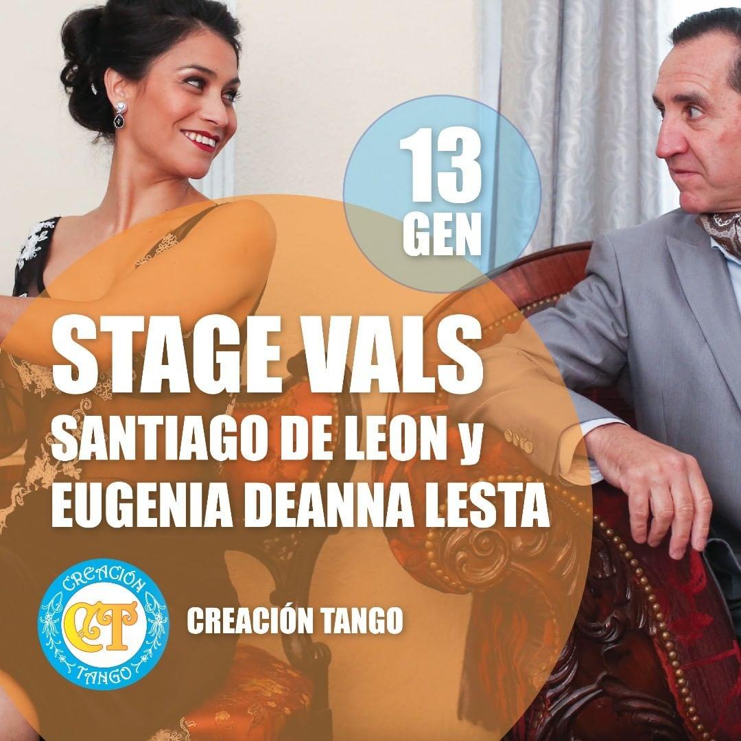 Stage Vals con Santiago de Leon y Eugenia Deanna Lesta