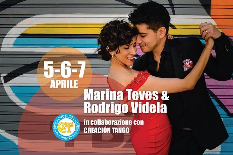 Marina Teves & Rodrigo Videla da Creacion Tango
