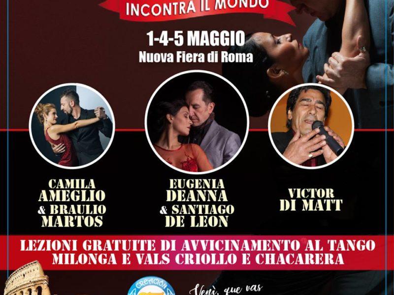 Creacion Tango a Roma Incontra il Mondo!