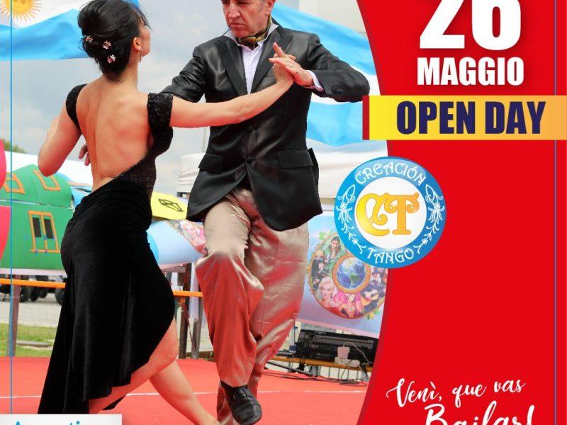Open Day Creacion Tango 26 Maggio Torino