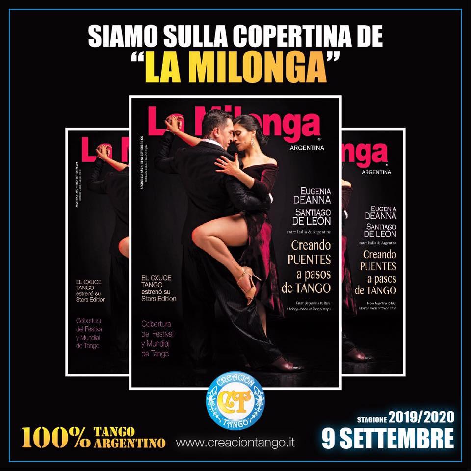 "Siamo sulla copertina de ""La Milonga""!"
