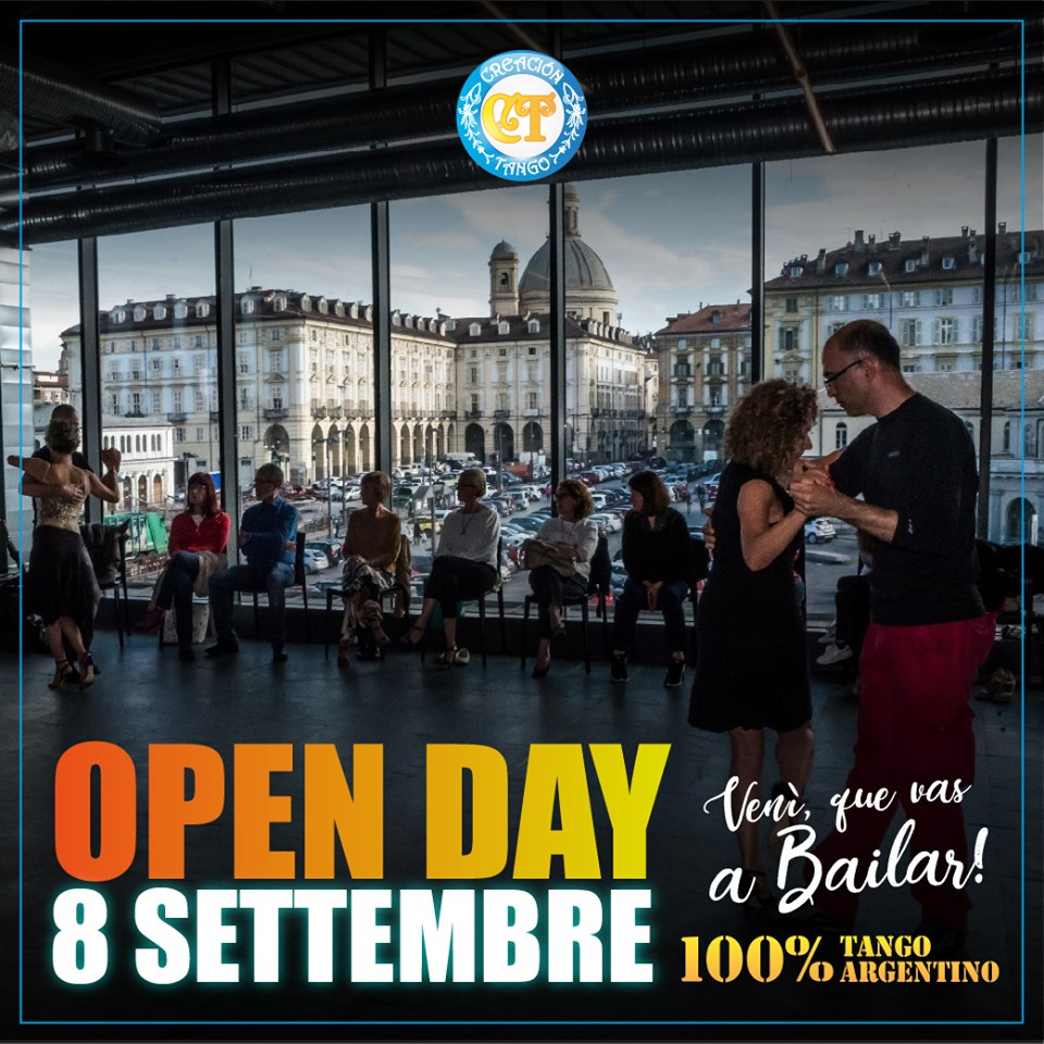Open Day Nuova Stagione Creacion Tango Torino