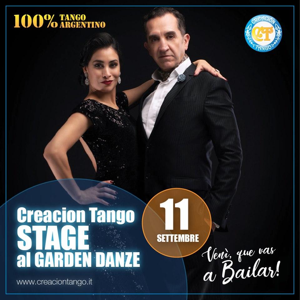 Creaion Tango Stage al Garden Danze di Torino