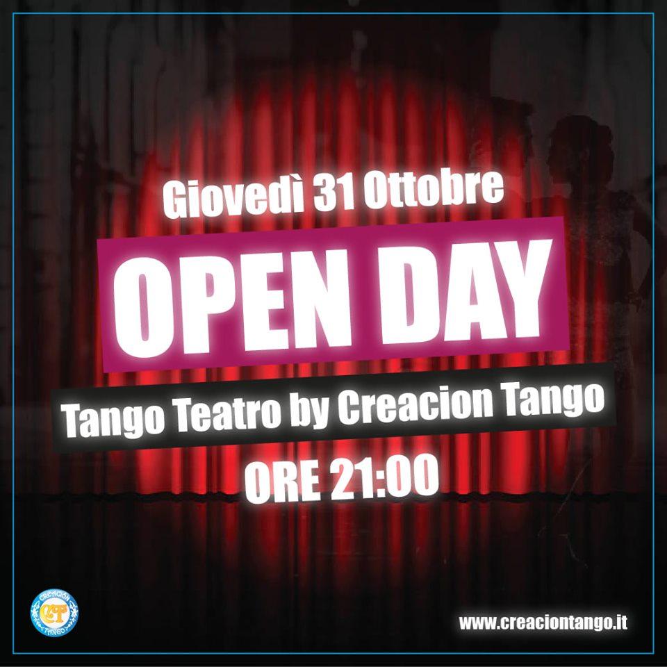 Open Day Tango Teatro