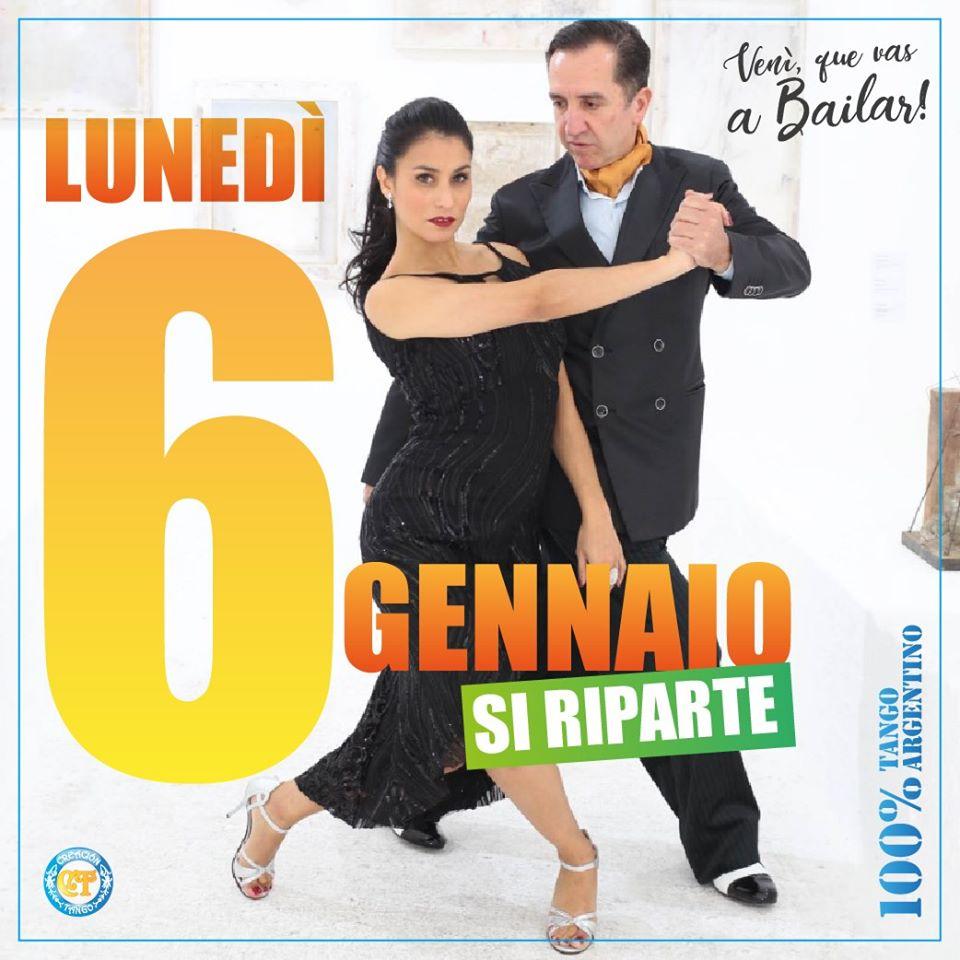 Ripartono i corsi di Tango Argentino