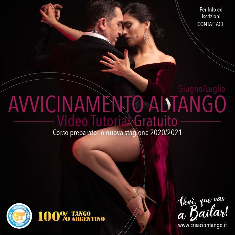 Video Tutoria Gratuito di Avvicinamento al Tango