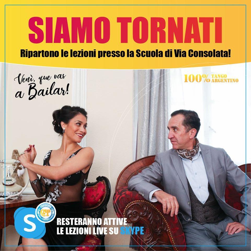 Creacion Tango: Siamo Tornati