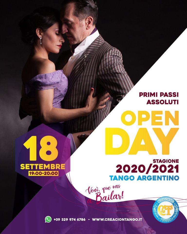 Secondo OPEN DAY Creacion Tango Torino