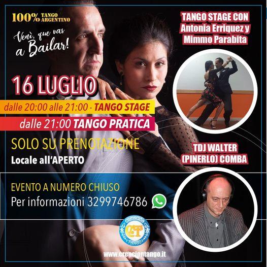 Tango Stage con Antonia Erriquez y Mimmo Parabita