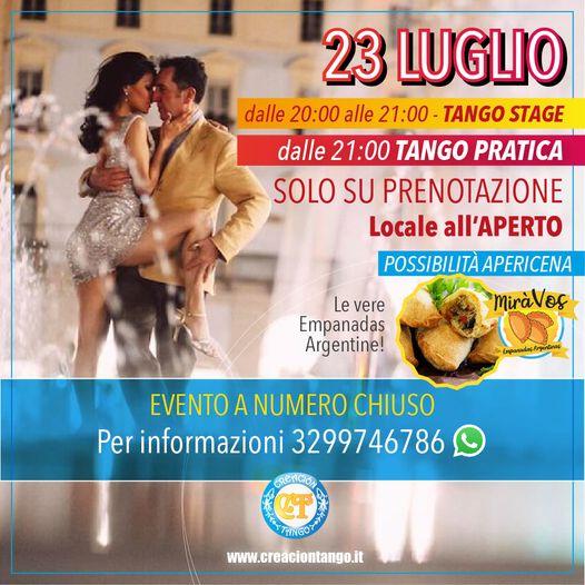 Venerdì 23 Luglio nuovo appuntamento con il Tango Argentino
