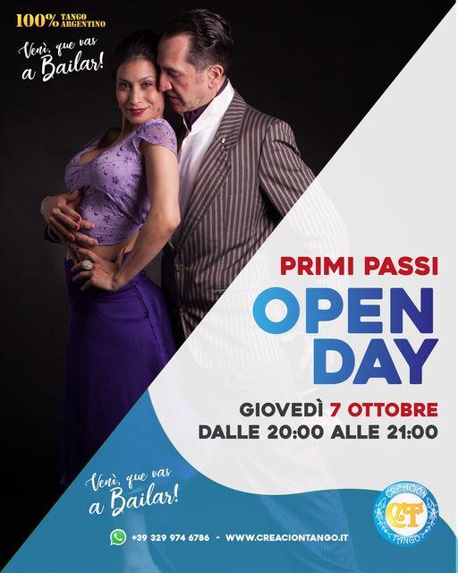 Open Day Primi Passi Tango Argentino